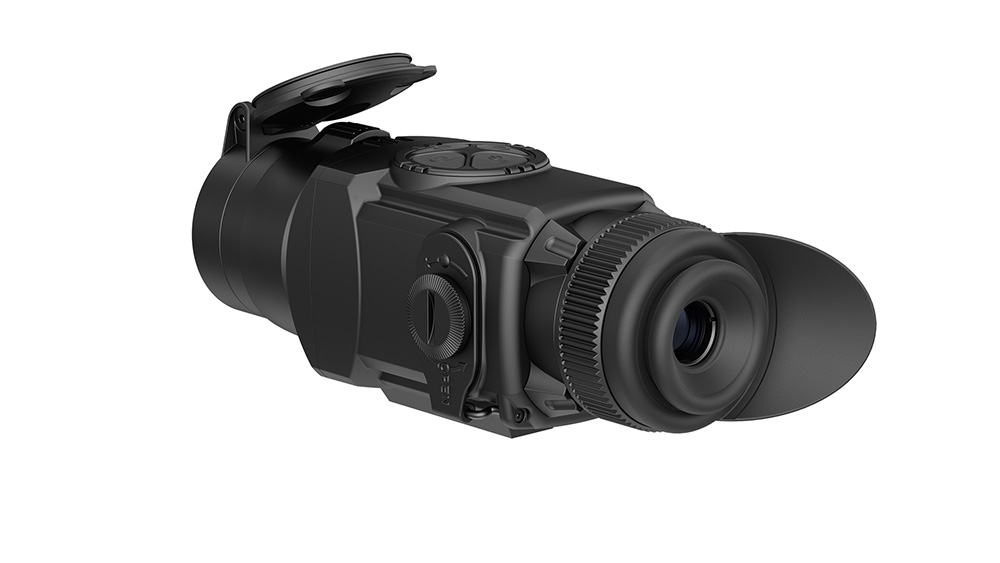 Pulsar Core with front monocular attachment